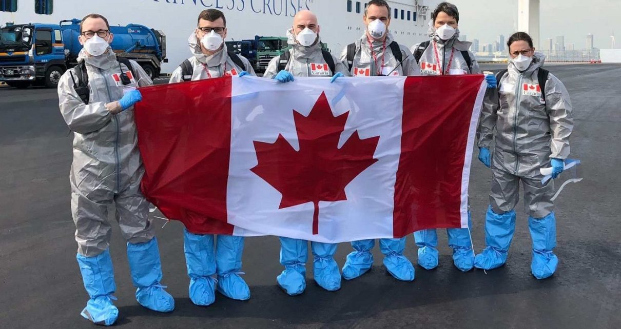 Canadian Armed Forces' Respond To COVID-19 Pandemic In Quebec Long-Term Care Facilities