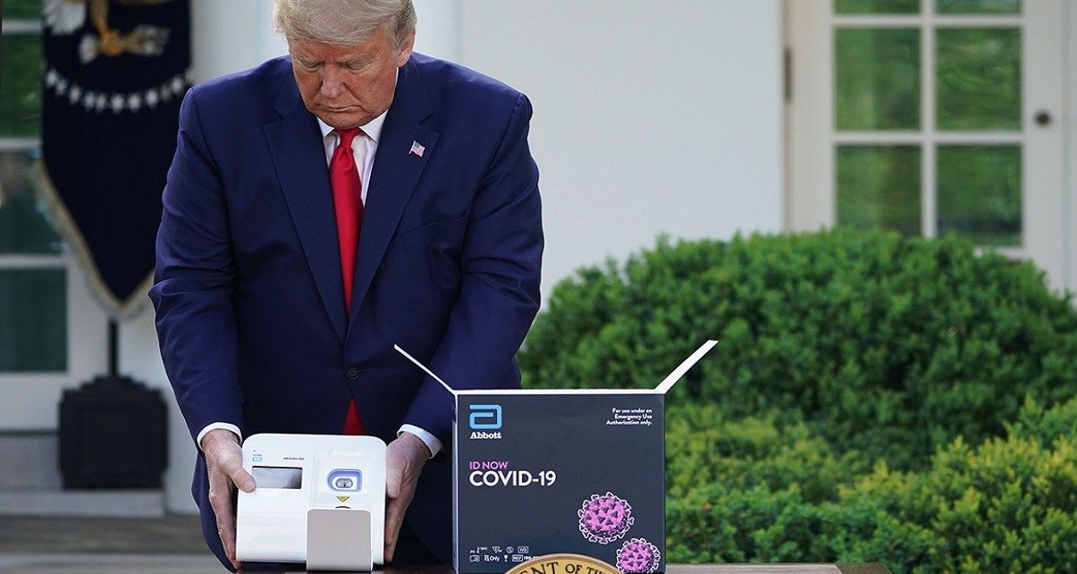 Trump Wrong, Only 5,500 COVID-19 Tests Available To America