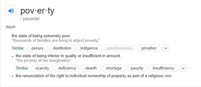 What Is The Definition Of Poverty? How Should It Be Defined In 2020?
