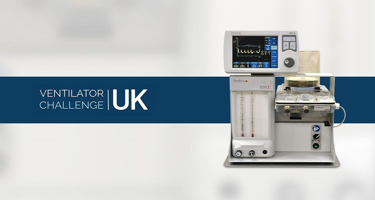 UK Government Approves 1st Batch Of COVID-19 Ventilators