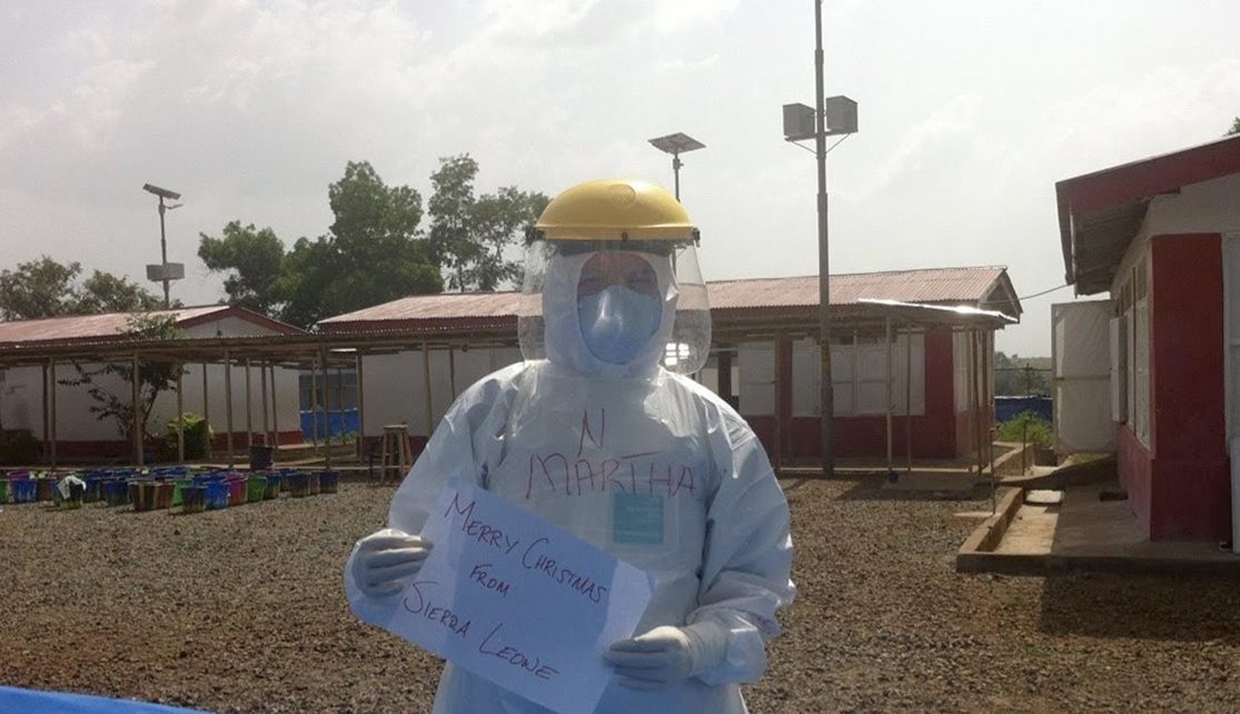 COVID-19 Nurses Ask An Ebola Veteran: Is It OK To Be Afraid?