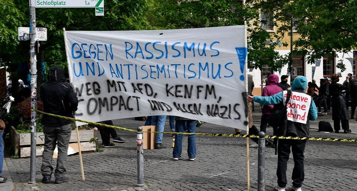 In Germany, Anti-Semitism Creeps into Covid-19 Protests