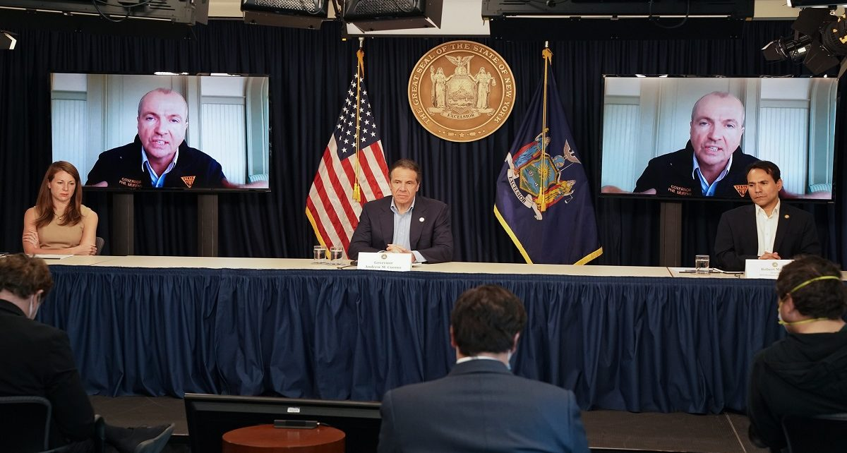 Trump's Weakness To Lead, Forces NY To Form COVI-19 Consortium