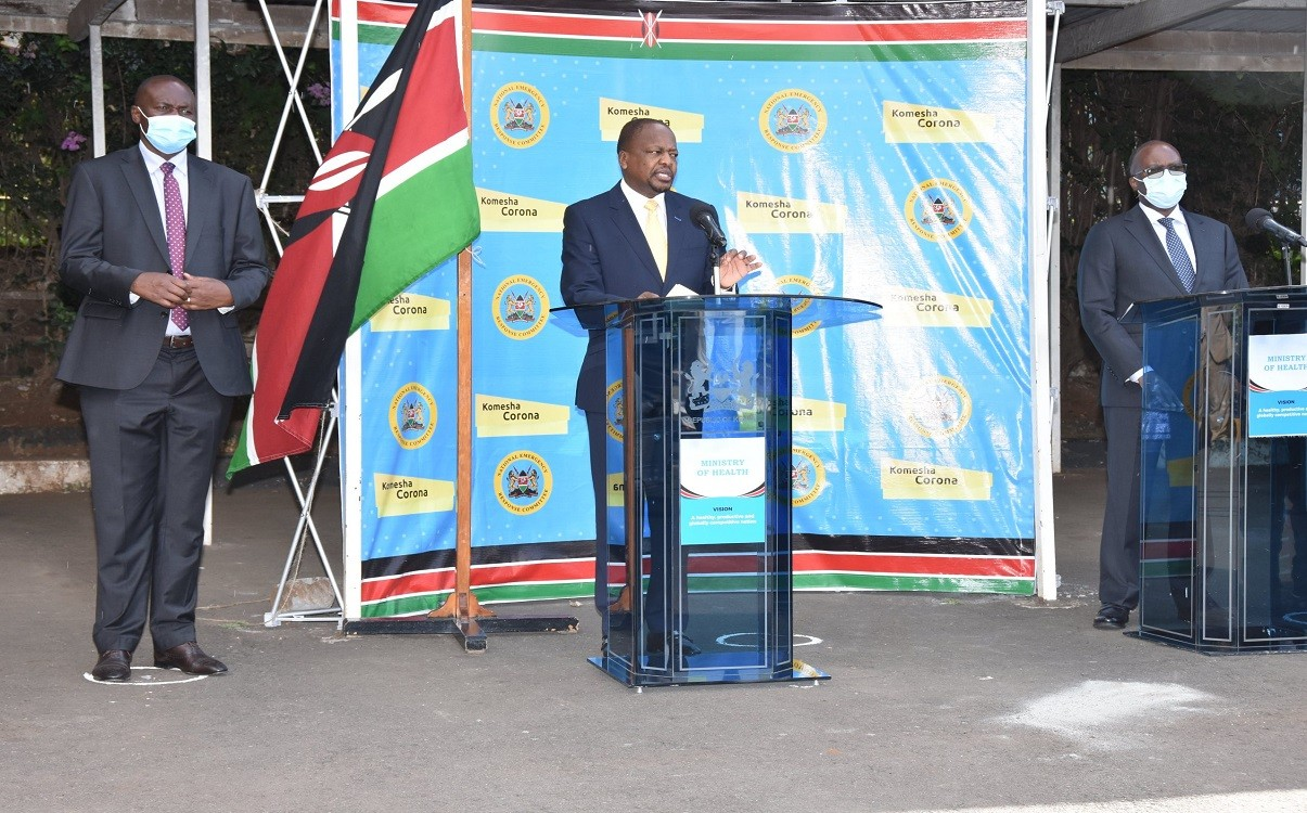 Kenya holds first-ever virtual health meeting with WHA