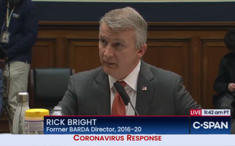 Whistleblower Rick Bright's AlarminG COVID-19 Testimony