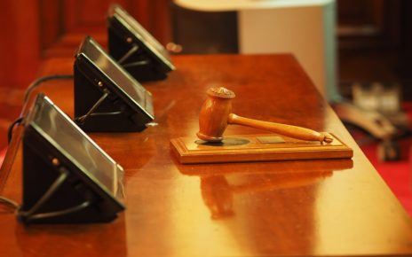 COVID-19, found guilty of disrupting court procedures