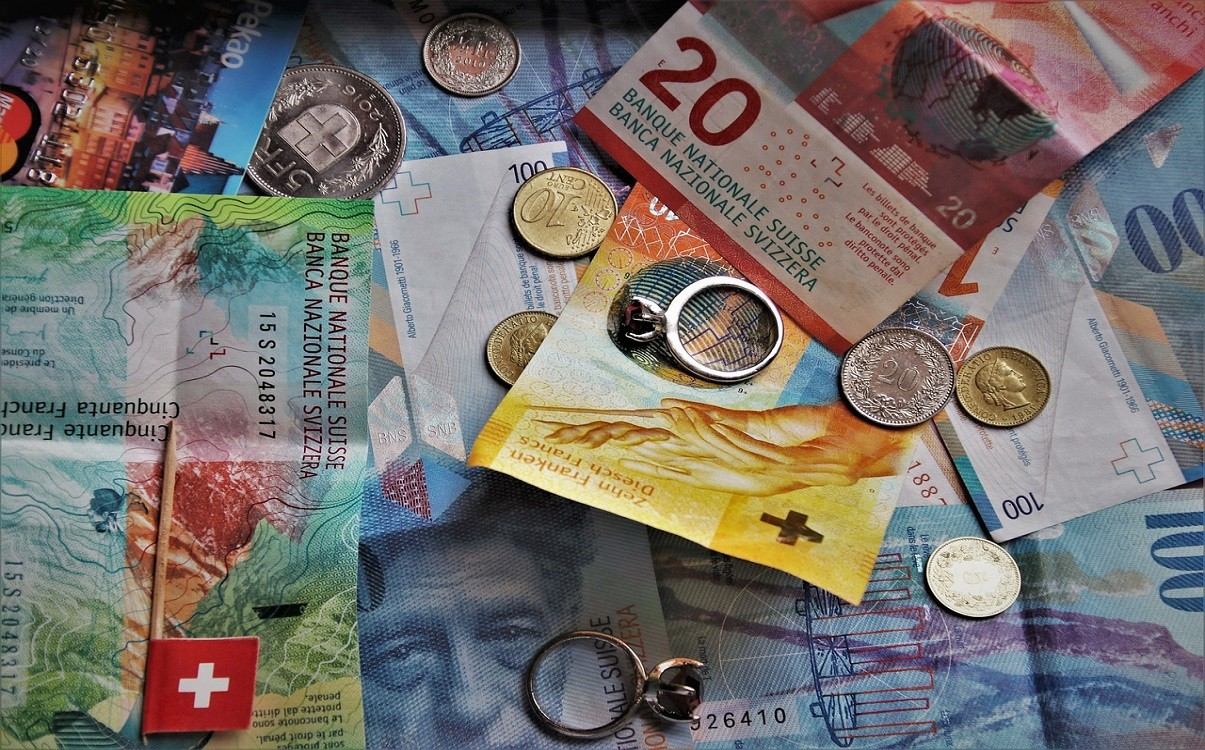 COVID-19 reduced the number of Swiss Francs exiting country