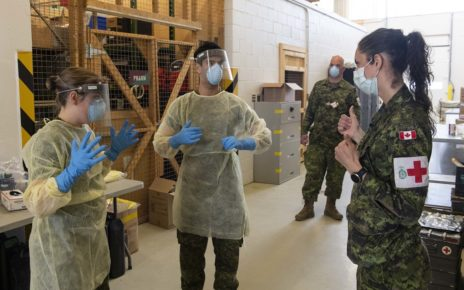 Canadian Armed Forces to receive COVID-19 front line pay