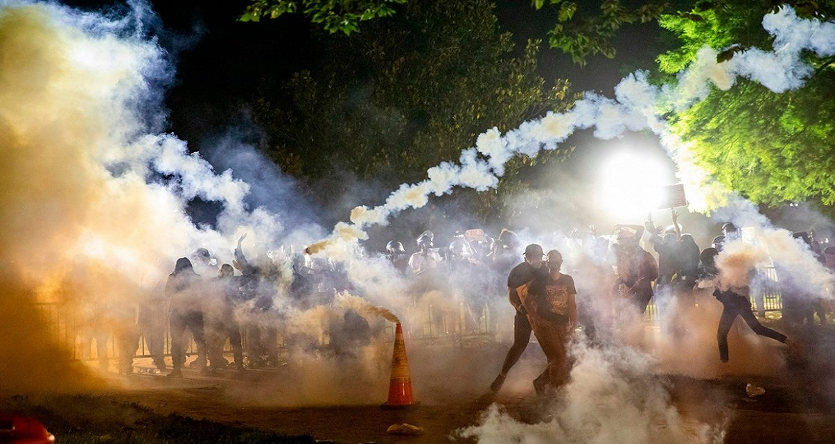 Tear-Gassing Protesters Is A COVID-19 Recipe For Disaster