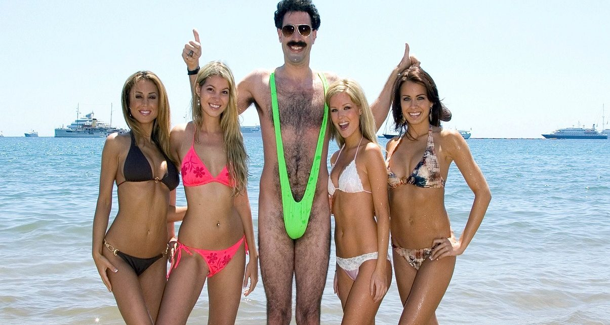 Trump Far Right Rally Gets pranked by Borat Creator