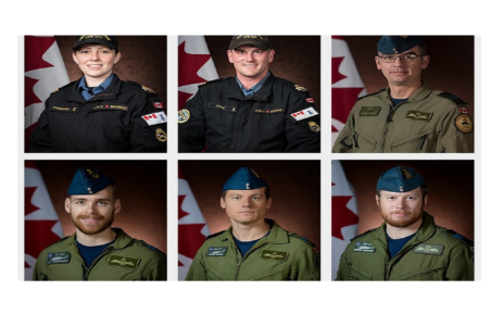 The bodies of Canadian Armed Forces have all been recovered