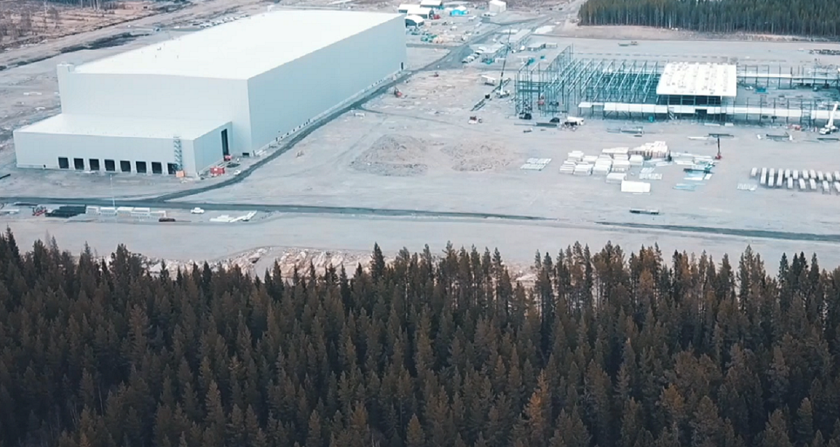 EIB invests $350 million in Northvolt's battery gigafactory