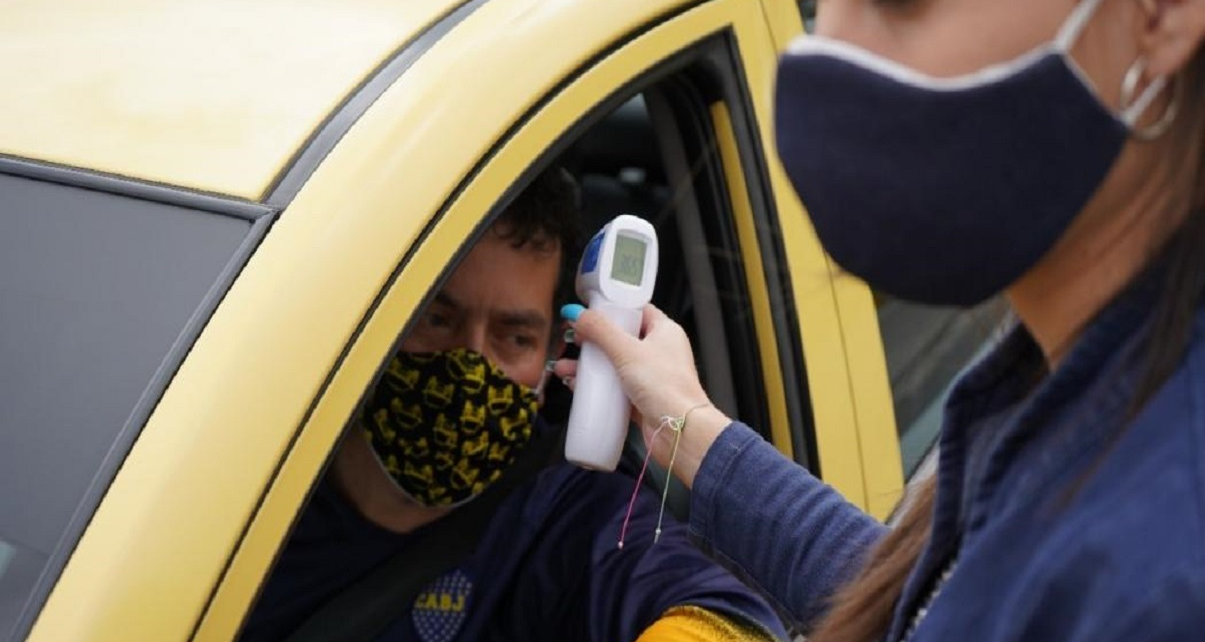 Ministry carries out actions for biosafety of taxi drivers