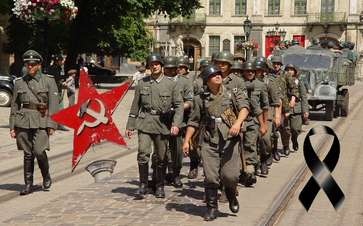 Black Ribbon Day: 81 years ago Nazism and Stalinism rose to power