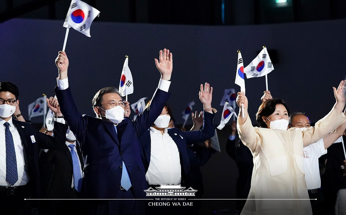 South Korea Celebrates 75th Year of Liberation