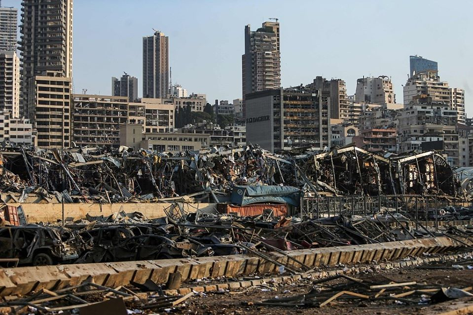 UK sends emergency relief to Lebanon after deadly explosion