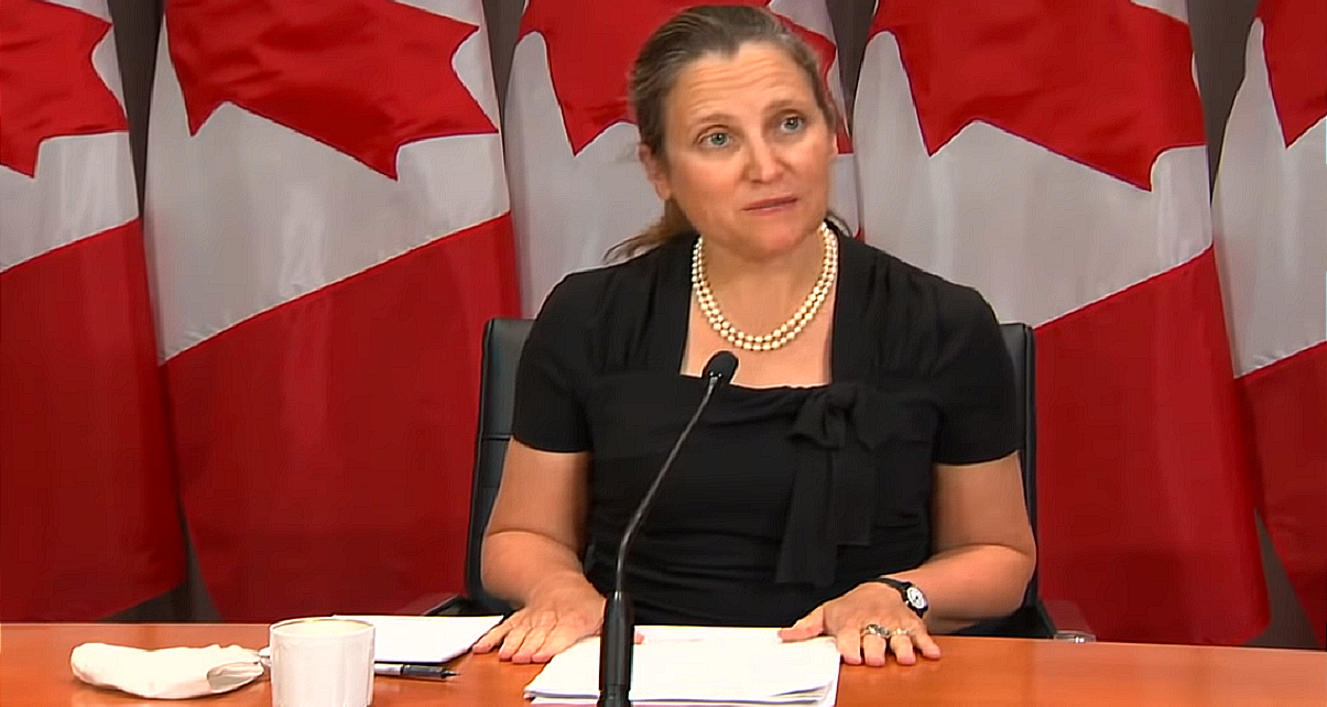 Chrystia Freeland becomes Canada's first Female Finance Minister