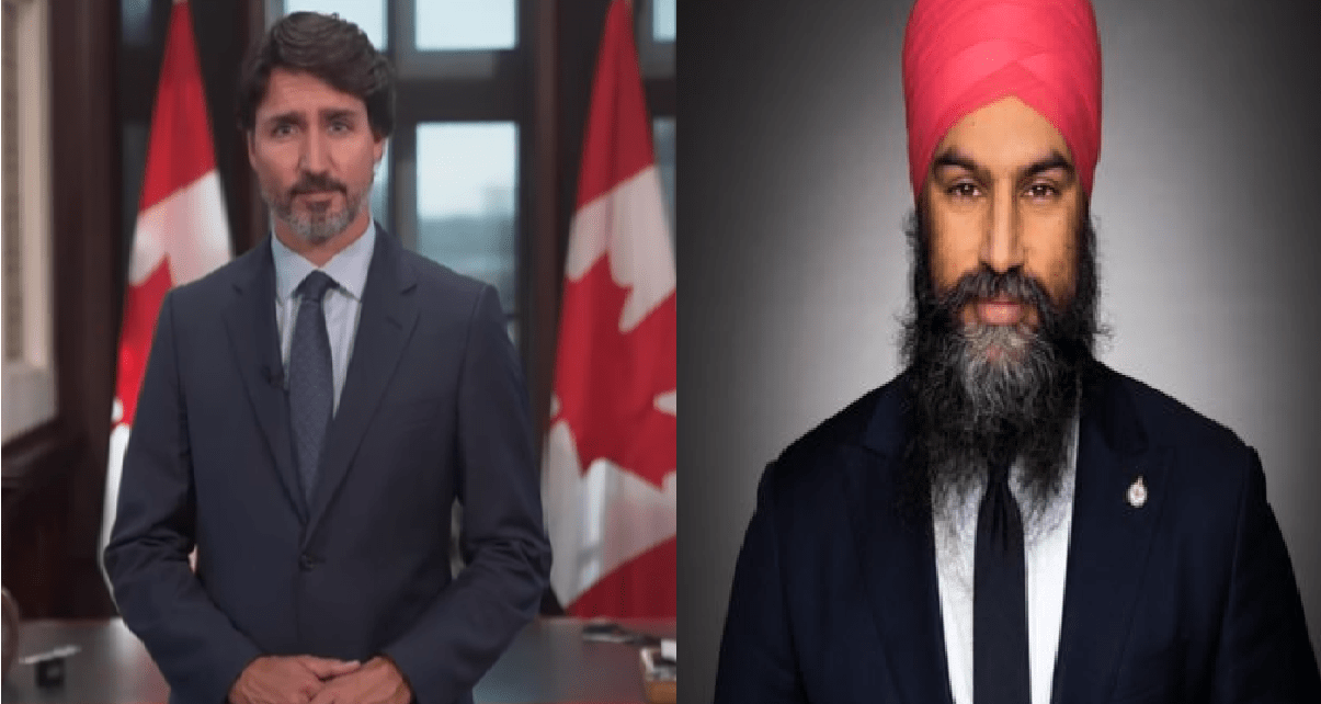 Liberals avoid an early election with help from NDP