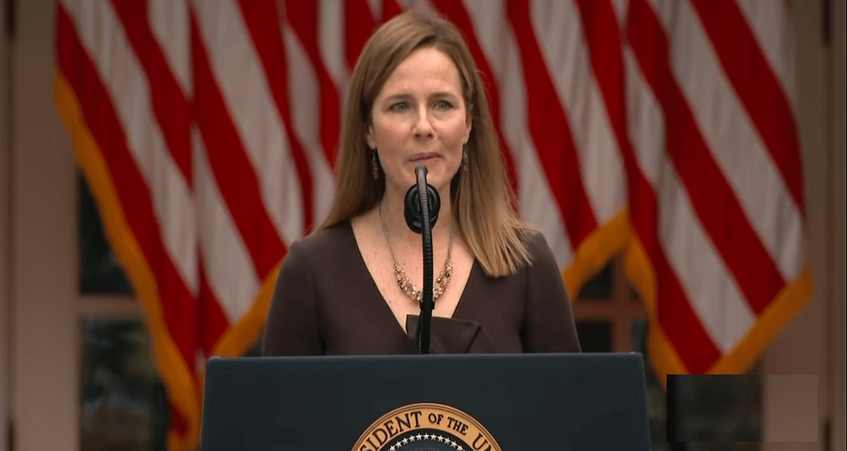 Trump Surrogates falling line - Amy Coney Barrett to become next Supreme Court Justice