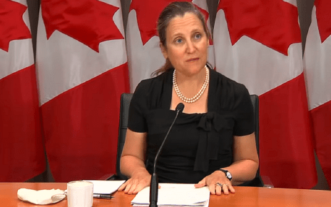 Trump lifts aluminum tariffs, caves again to Canada's Deputy Prime Minister Freeland