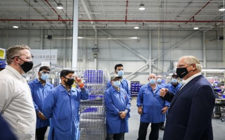 Ontario Ramps Up Ventilator Production with another 10,000 units in production