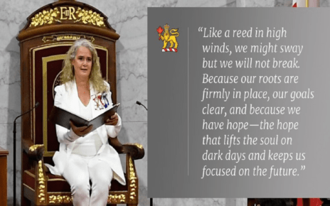 Canadian Speech from the Throne