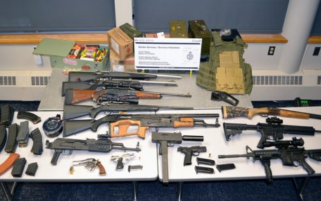 Alaskan man caught smuggling illegal guns into Canada, they will be destroyed