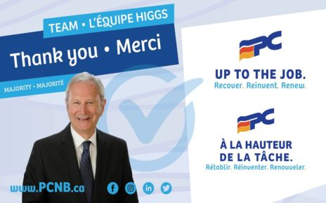 Higgs win majority with 27 seats in New Brunswick election