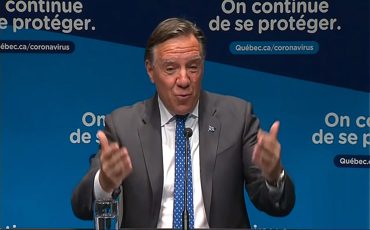 CODE RED: Many Regions In Quebec Go Into COVID-19 Lockdown