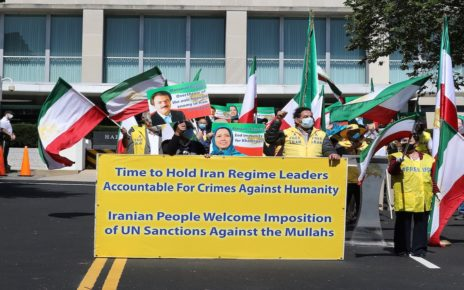 Iranian Americans Welcome Restoration of UN Sanctions