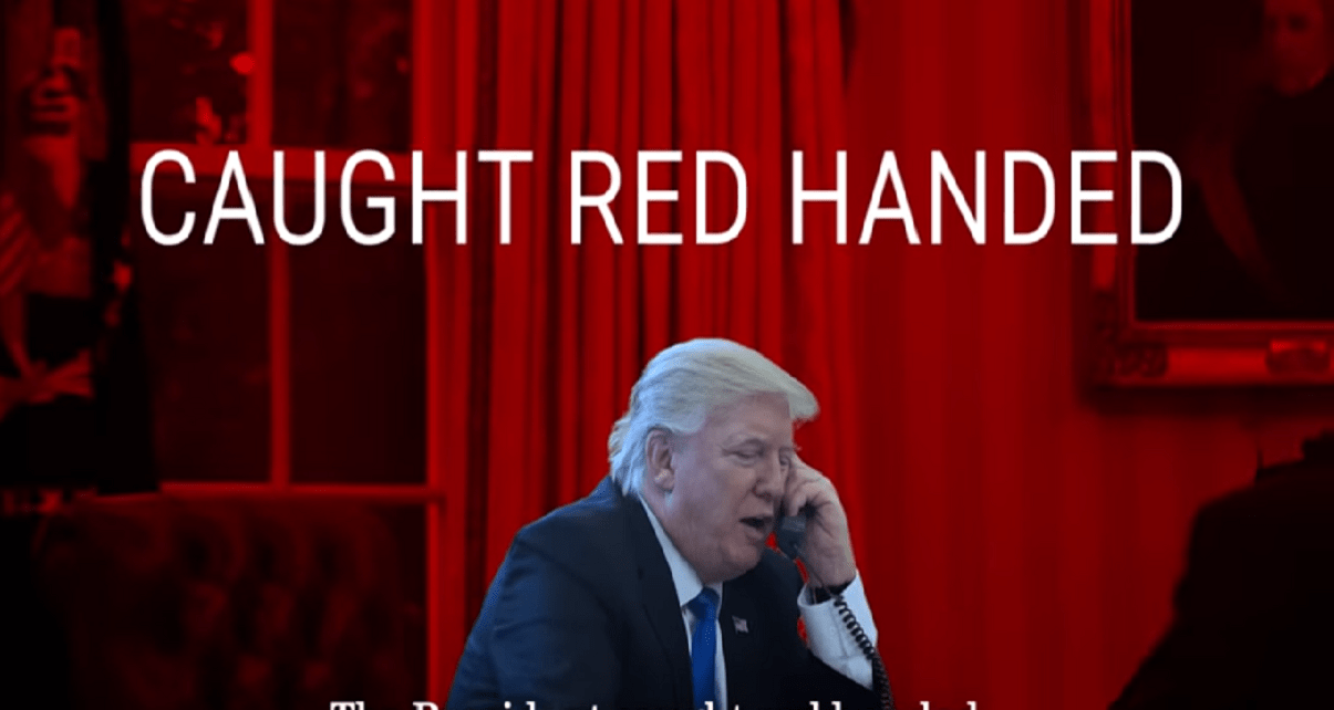 DNC Hits Trump in Swing states with 'Red Handed' ADs