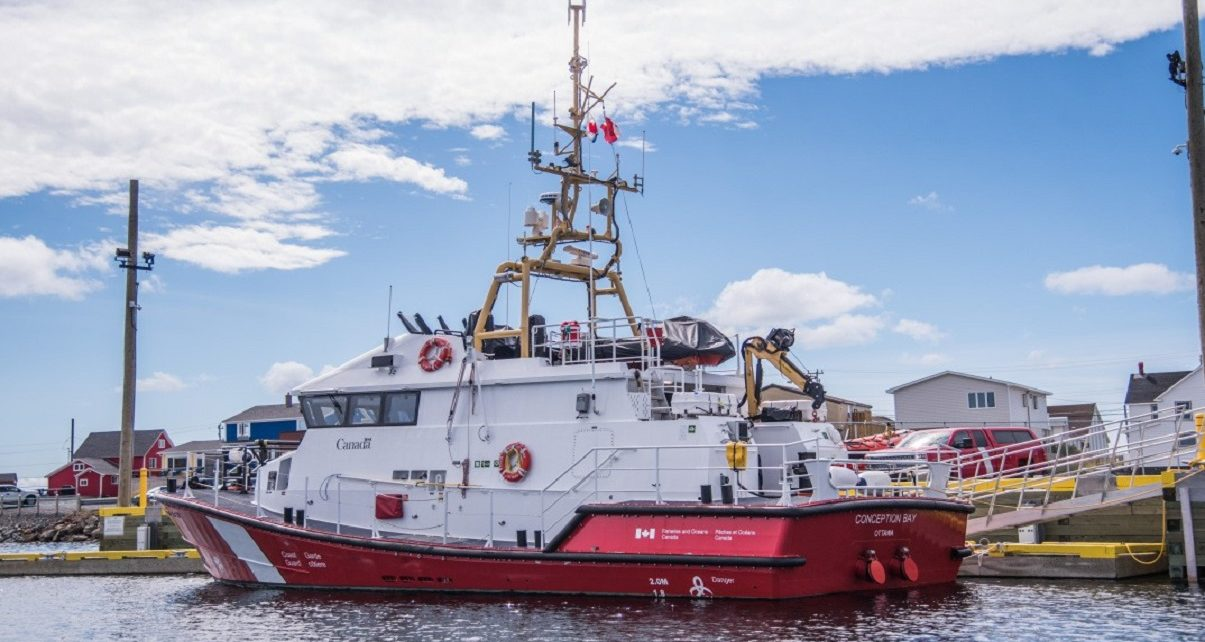 Rescue boat Conception Bay to hit the high seas