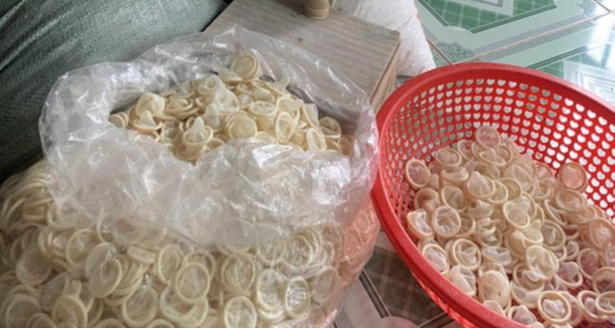 Police seize 345,000 used condoms that were washed and resold for sexual intercourse