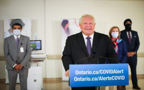 Ford Government Commits 766 Hospital Beds For COVID-19