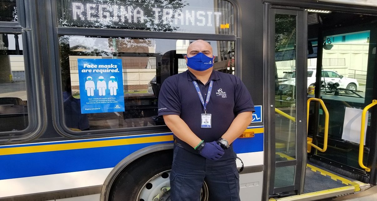 Regina Transit Expands Free Mask Distribution to Riders