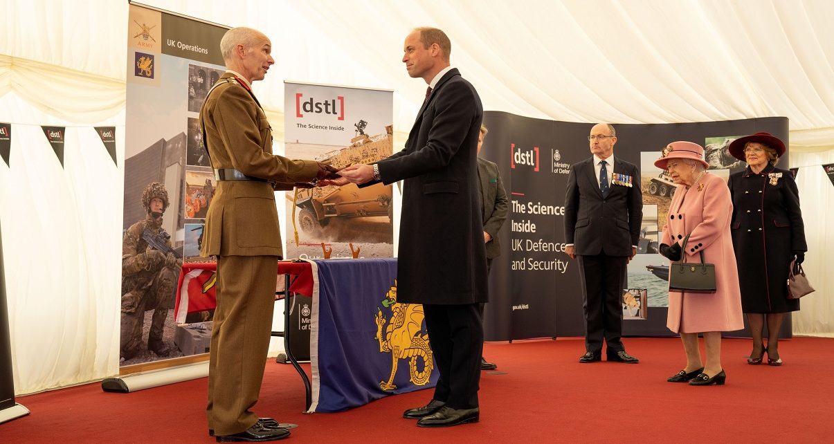 Englands new Dstl's counter-terrorism facility opened by The Queen