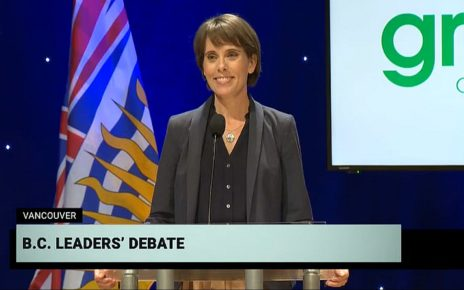 And the Debate Winner Is.... Sonia Furstenau of the Green Party