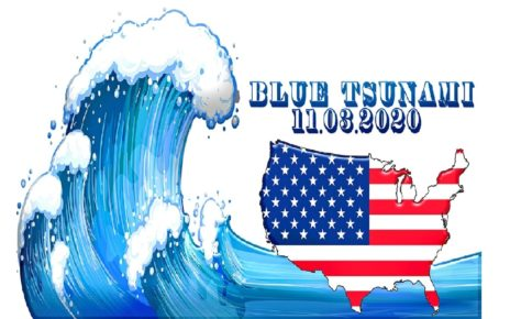 ELECTION DAY USA 2020, All Polls Pointing To A Blue Tsunami