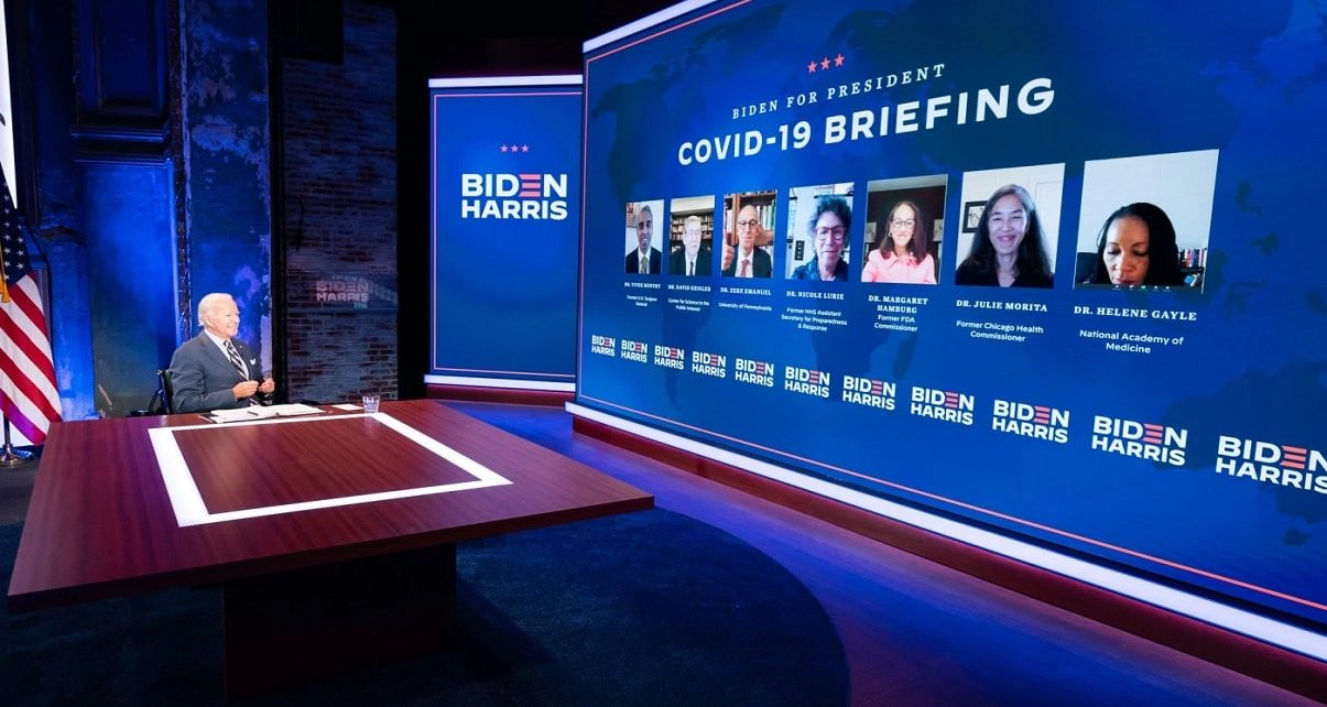 Biden Names COVID-19 Transition Team