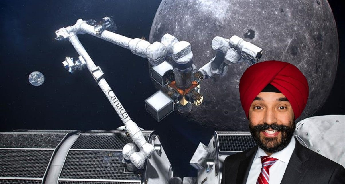 Canada Sending It's First Astronaut To The Moon in 2023