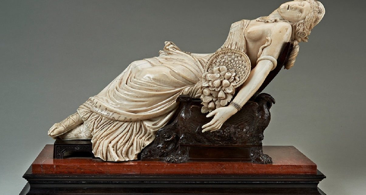 """UK Government Stops Export of """"Death of Cleopatra"""""""