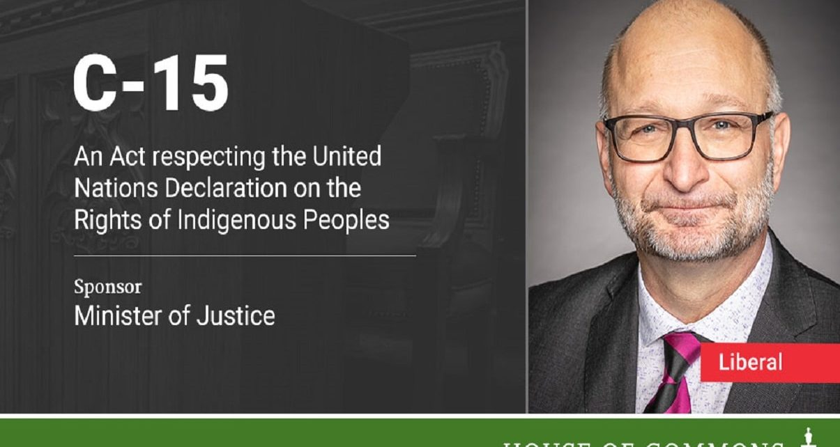 "Canada Introduces Legislation Respecting The Rights of Indigenous Peoples ""U.N.D.R.I.P"""