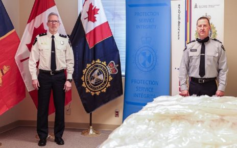 RCMP Seize 228.14 kg of Meth With A Street Value of $28.5 Million
