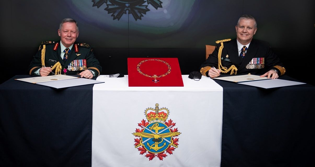 Admiral Art McDonald Appointed Canada's new Chief of the Defence Staff