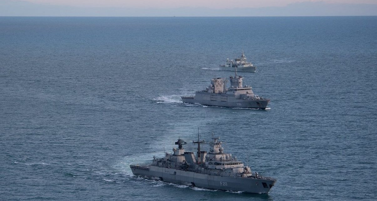 Canada Assumes Command International Counter-Terrorism Naval Task Force
