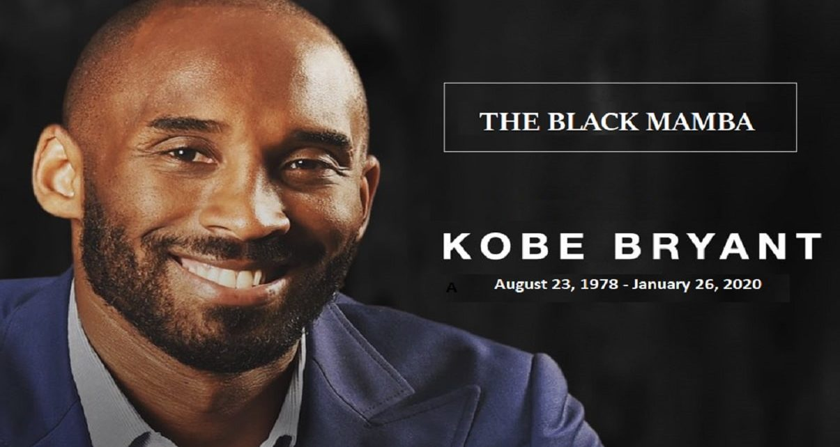 Today Marks The 1 Year Anniversary Of The Death Of The Black Mamba