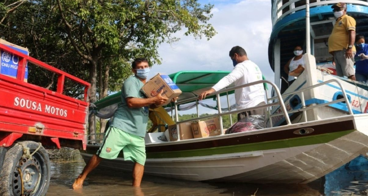 Major Efforts By The IOM To Prevent The Spread of COVID-19 Among Indigenous Brazilians