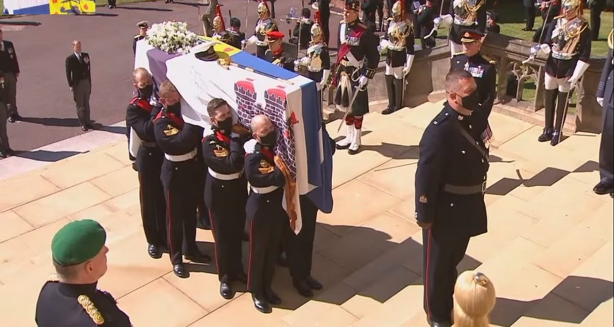 Prince Phillip Laid To Rest In Ceremonial Royal Funeral