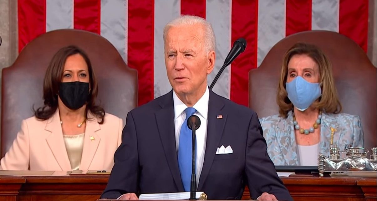 Americans Are Optimistic After Biden's First State Of The Union Address