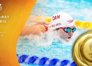 Maggie Mac Neil Wins Canada's 1st Gold in 2020 Olympics